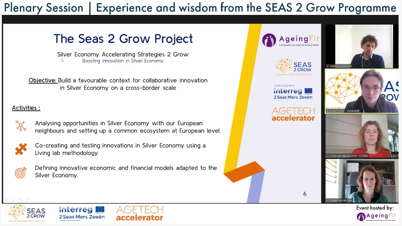 From SEAS 2 Grow to AgeTech Accelerator International